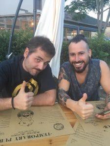 Alessio und Adrian J Portia