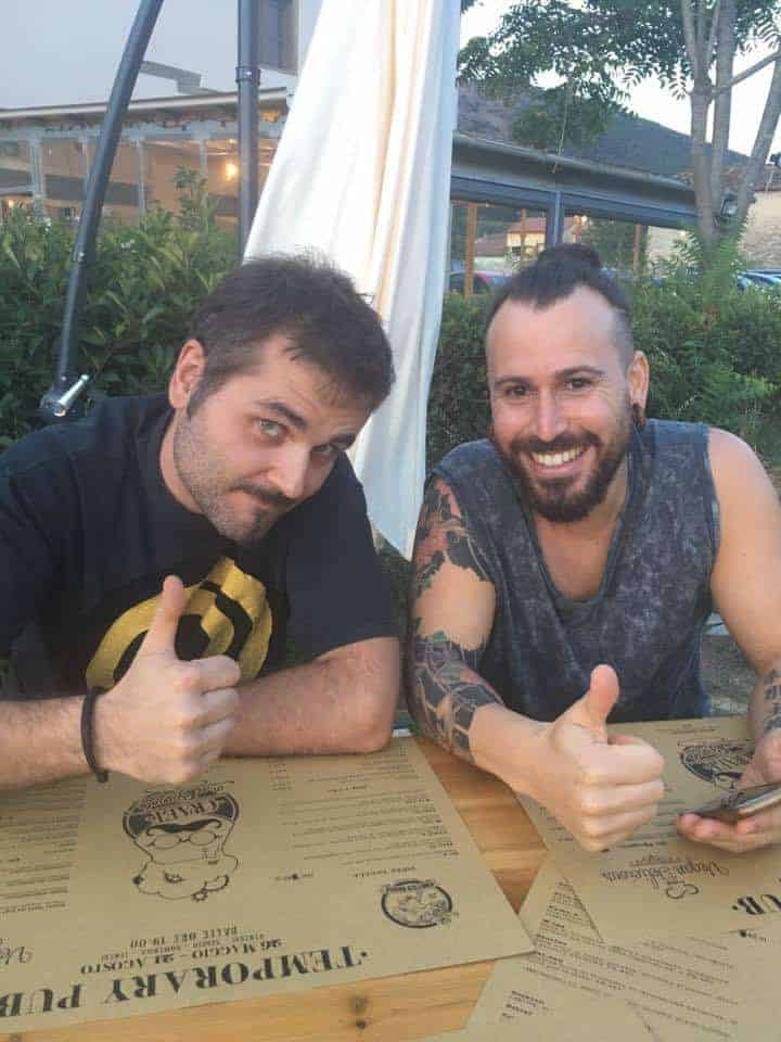 Alessio Massi und Adrian Porta