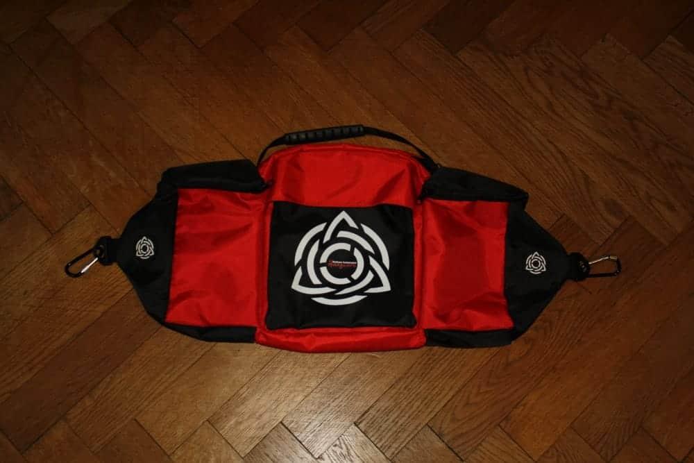 Tasche, die an der HcT Evatek befestigt werden kann
