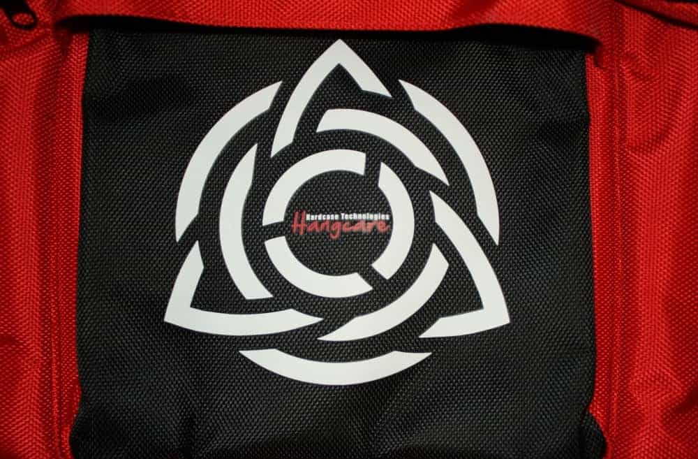 HcT Logo auf der Tasche
