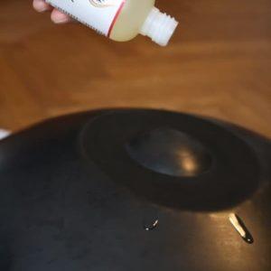 Handpan Pflege mit Phoenix Öl