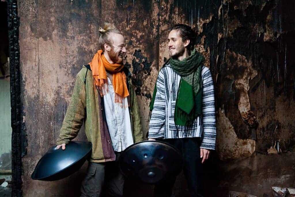 Yatao: Malte und Alexander mit ihren Handpans