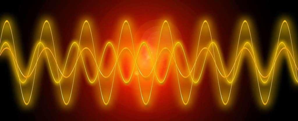 432 Hz Schwingungswelle