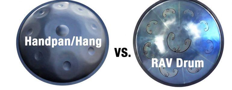Handpan und RAV Vast Drum