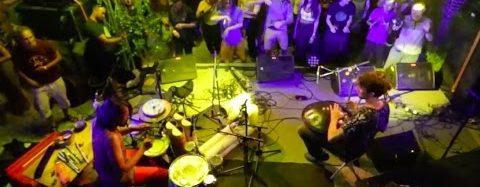 Tanzen auf dem Griasdi Handpan Festival