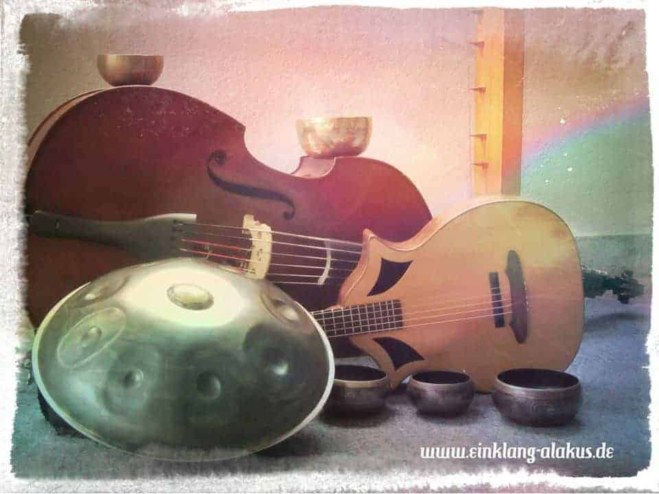 ALAKUS - Ute Kilian und Frank Willi Schmidt Handpan und Bass