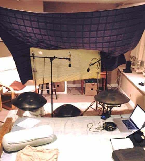 Dan Mulqueens Heimstudio