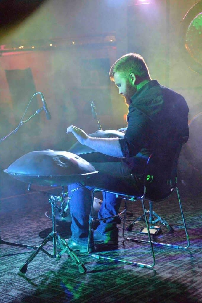 Dan Mulqueen bei einem Auftritt