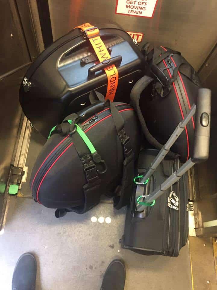 Dan Mulqueen reist mit seinen Handpans