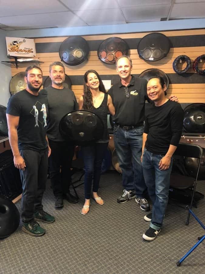 Dave's Island Instruments Team