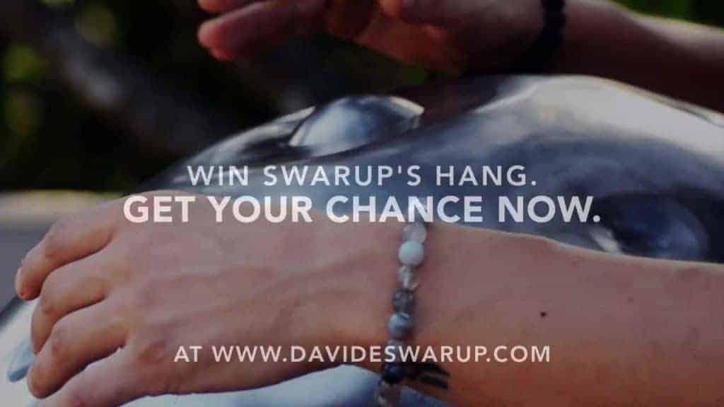Davide Swarups Handpan Verlosung