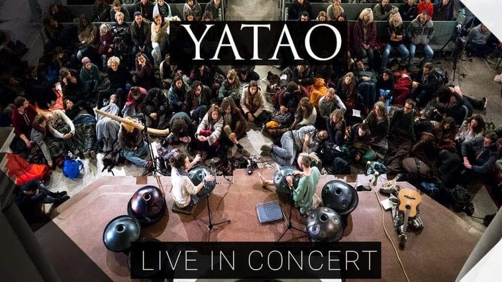 Yatao Konzert In Der Heilig Kreuz Kirche Berlin 252018 Handpan