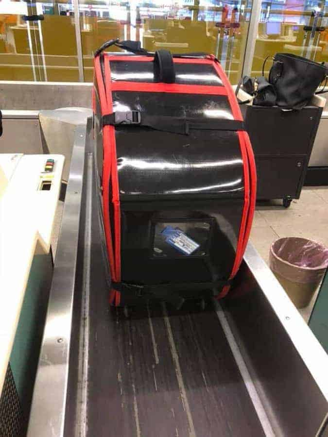 Hardcase Technologies Flytek auf Gepäckband