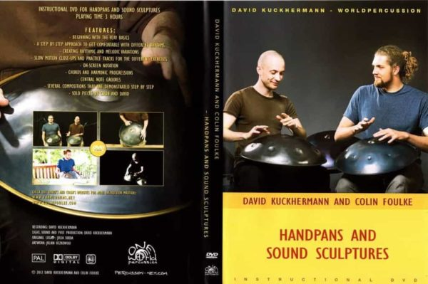 World Percussion Handpan & Sound Sculptures Tutorial DVD Cover