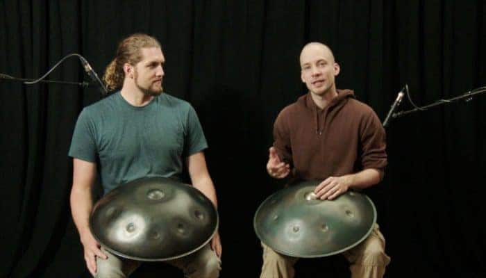 David Kuckhermann & Colin Foulke - Handpan Tutorial (26/2018)