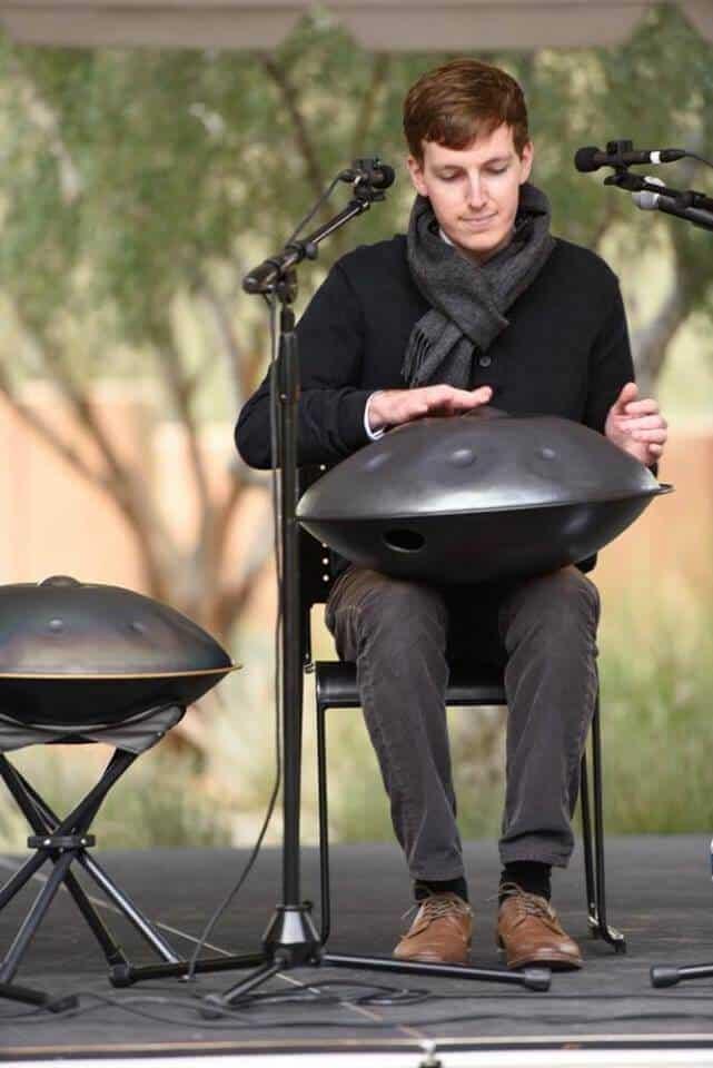 Sylvain Paslier bei einem seiner vielen Konzerte