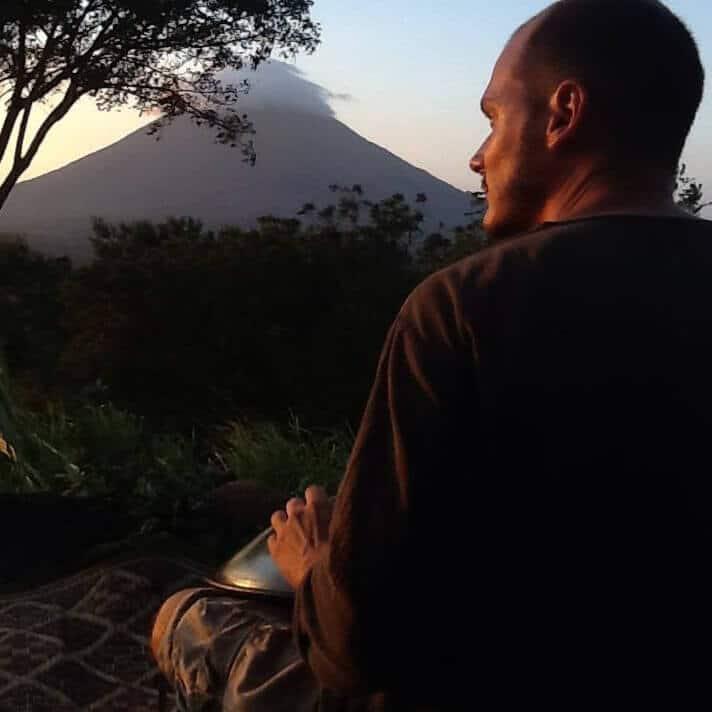 Daniel im Jahr 2013 auf Ometepe in Nicaragu