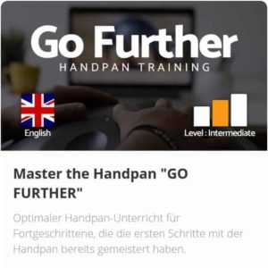 Handpan Unterricht Master The Handpan Go Further David Charrier - Fortgeschrittene