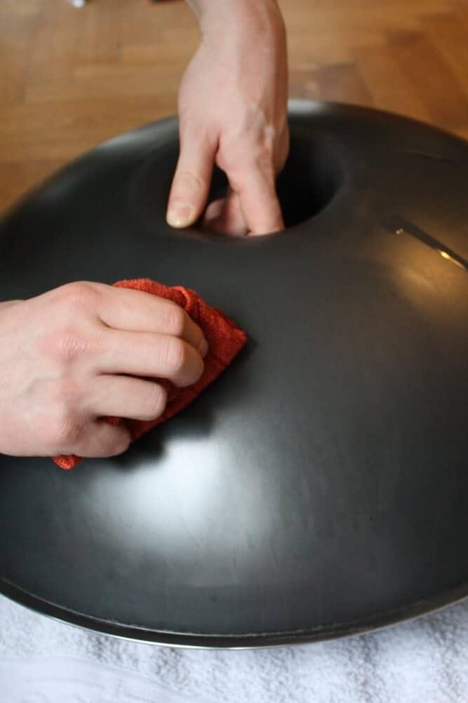 Phoenix Oil verreiben/einpolieren (Unterseite)