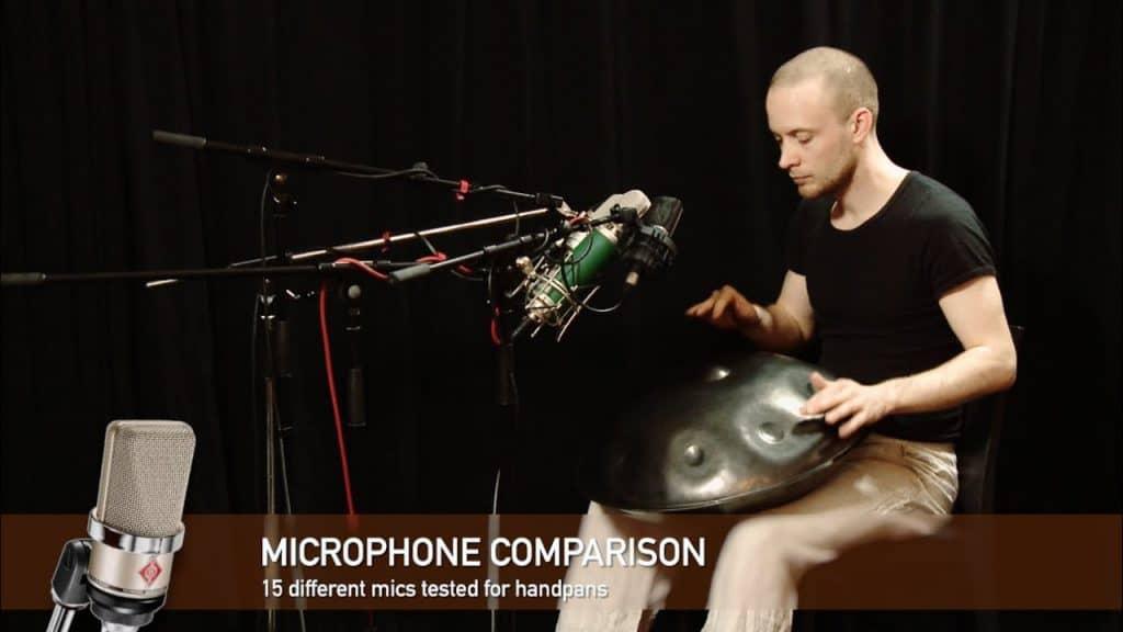 Handpan Mikrofon Vergleich von David Kuckhermann