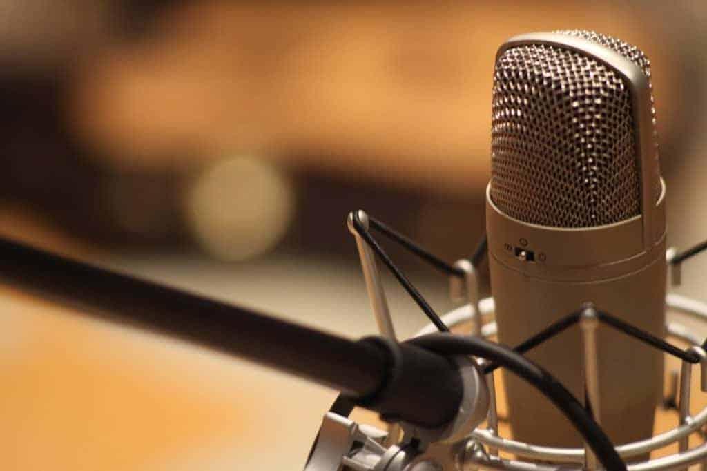 Mikrofon Handpan aufnehmen