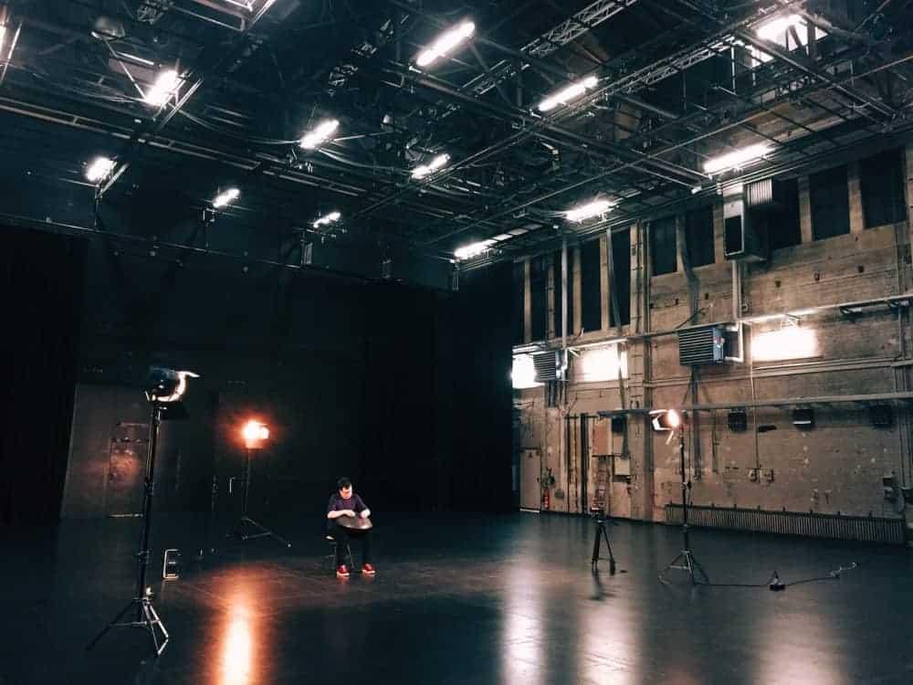 Nils Lagoda Handpan - Mood Dreharbeiten 1