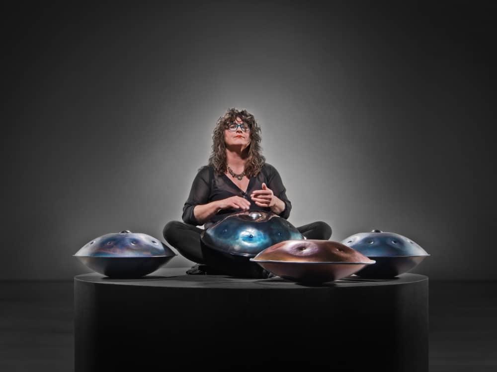 Petra Eisend Handpan Drum Experience