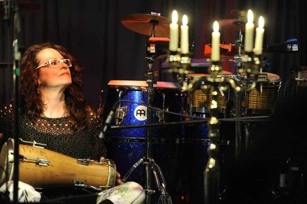 Petra Eisend auf der Bühne