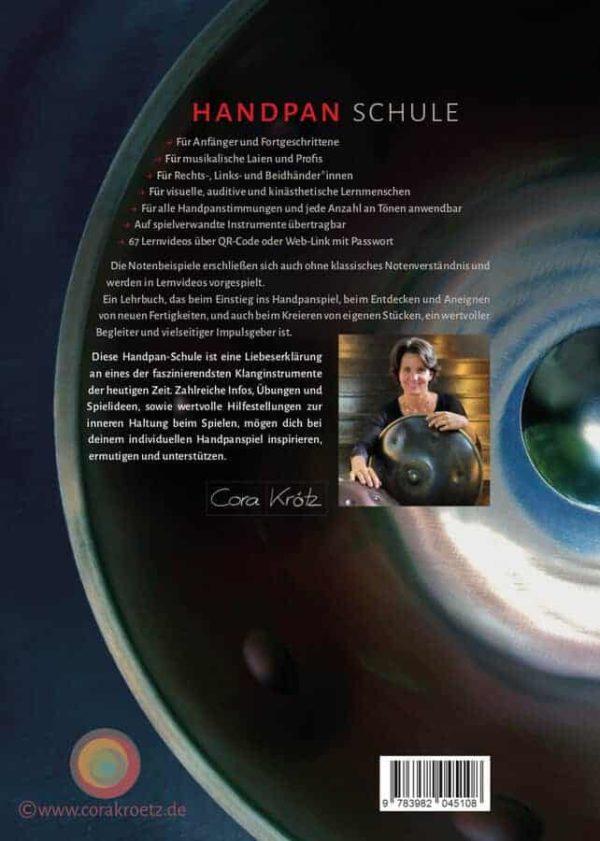 Handpan Spielend Lernen - Cora Kroetz - Rueckseite