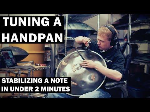 Wie stimmt man eine Handpan - Symphonic Steel - Sean Beever - Handpan360 - Peter Levitov