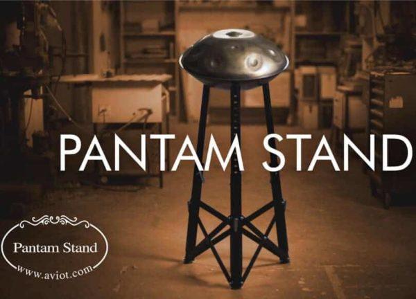 Pantam Stand Aviot Handpan-Ständer Handpanständer scharz