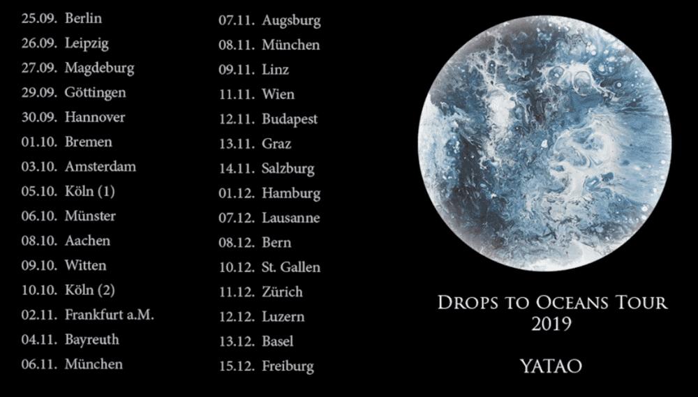 Yatao Drops to Oceans Tourdaten Konzerte