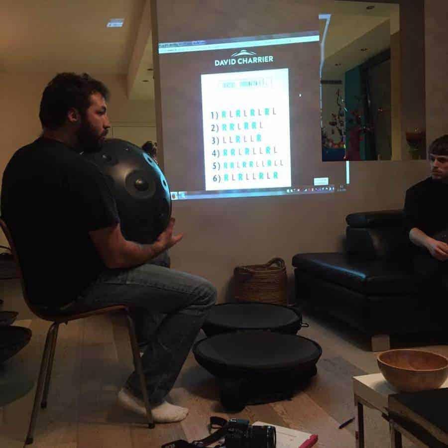 David Charrier Master The Handpan Notationssystem Workshop