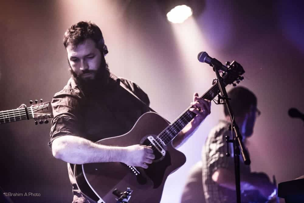 David Charrier an der Gitarre beim Konzert