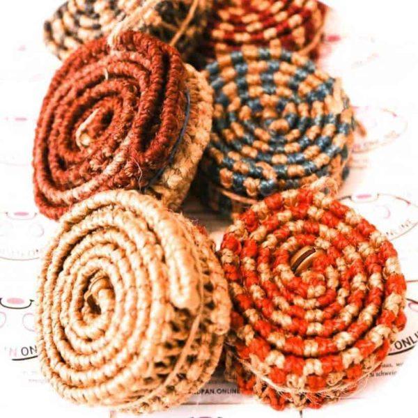 Handpan-Band-Schutz-Rim-Rope-Natur-Handarbeit