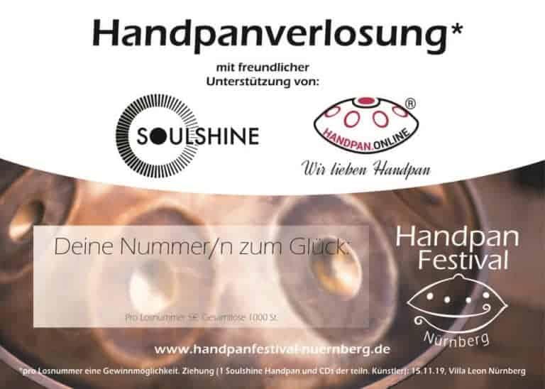 Handpanverlosung Soulshine Handpan gewinnen Frank Zander Weihnachtsfest Handpan Festival Nürnberg