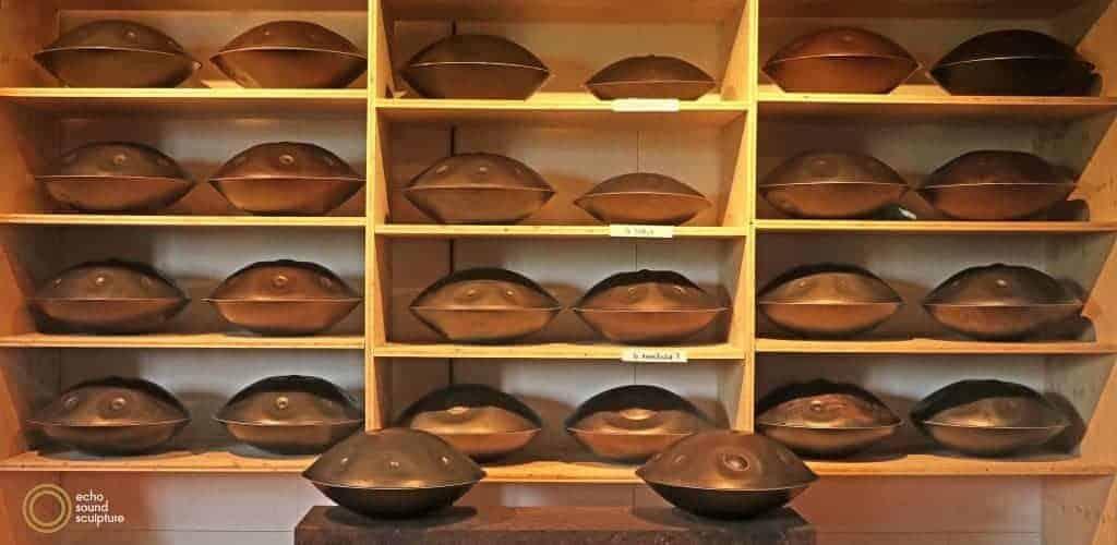 Echo Sound Sculpture Handpans in Regal