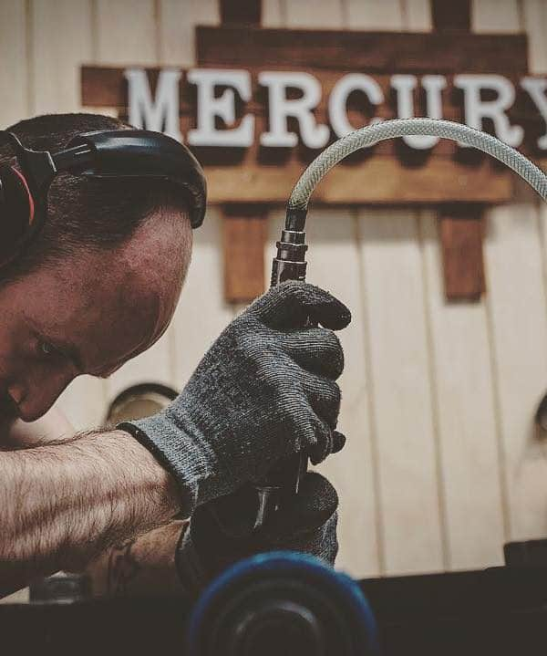 Aitor baut eine Mercury Handpan