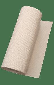 Papiertuch zum Säubern der Handpan