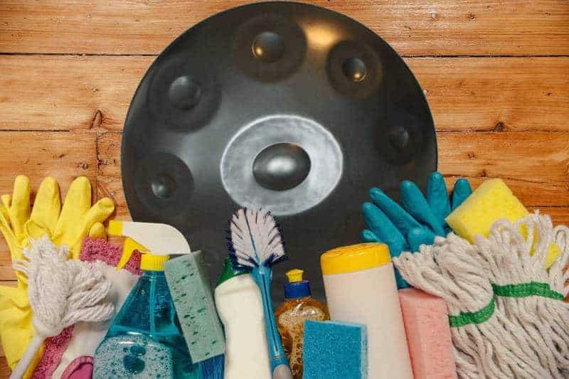 Handpan pflegen & reinigen