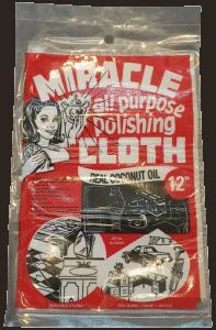 Miracle Cloth zum Entfernen von Rost auf Handpans