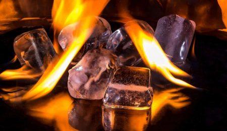 Handpan Hitze und Kälte - Feuer und Eis